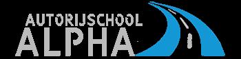 Autorijschool Alpha logo